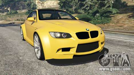 BMW M3 (E92) WideBody v1.1 for GTA 5