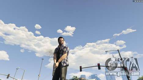 GTA 5 Forced First Person Aim 1.0.6 fifth screenshot