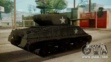 M4A3(76)W HVSS Sherman for GTA San Andreas left view