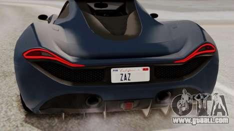 Citric Progen T20 for GTA San Andreas upper view