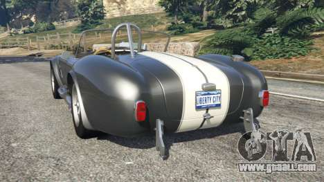GTA 5 AC Cobra v1.2 [Beta] rear left side view