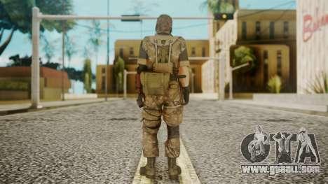 Venom Snake Wetwork for GTA San Andreas third screenshot