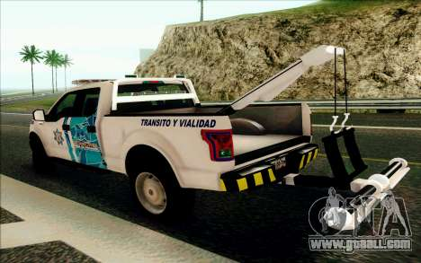 Ford F150 2015 Towtruck for GTA San Andreas right view