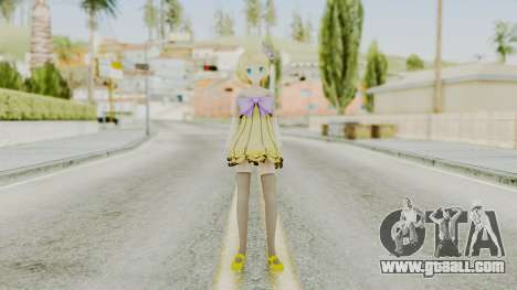 Project Diva F 2nd - Kagamine Rin Cheerful Candy for GTA San Andreas second screenshot