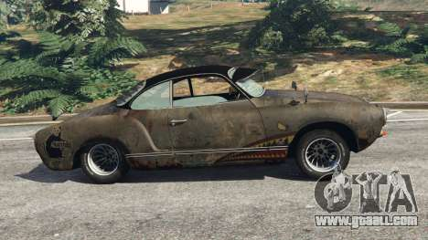 GTA 5 Volkswagen Karmann-Ghia Typ 14 left side view