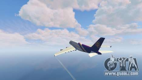 Airbus A380-800 v1.1 for GTA 5