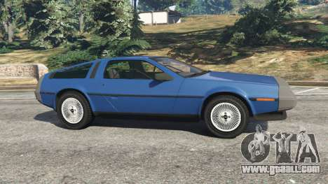 GTA 5 DeLorean DMC-12 v1.1 left side view