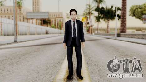Agent Mulder (X-Files) for GTA San Andreas second screenshot