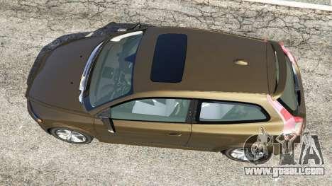 GTA 5 Volvo C30 T5 back view