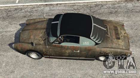 GTA 5 Volkswagen Karmann-Ghia Typ 14 back view