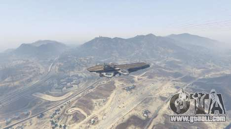 GTA 5 S.H.I.E.L.D. Helicarrier third screenshot
