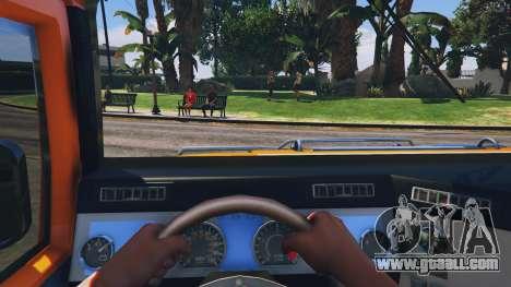GTA 5 Hummer H1 6X6 v2.3 back view