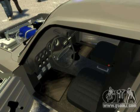 Ваз 2106 Kavkaz Style for GTA 4 inner view