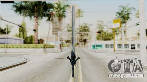 Katana from RE6 for GTA San Andreas second screenshot