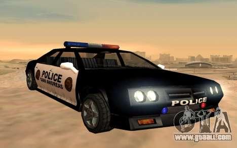 Four police Buffalo for GTA San Andreas