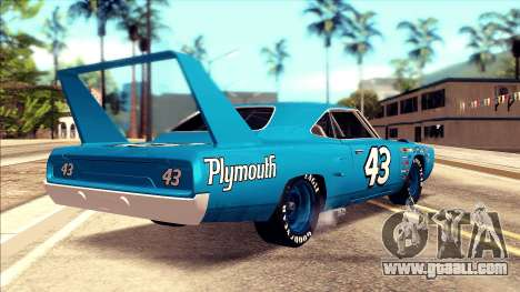 Plymouth Superbird 1943 for GTA San Andreas left view