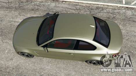 GTA 5 BMW 1M v1.2 back view