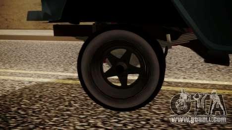 Chevrolet Bel Air Gasser for GTA San Andreas back left view
