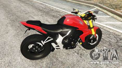 GTA 5 Honda CB1000R right side view