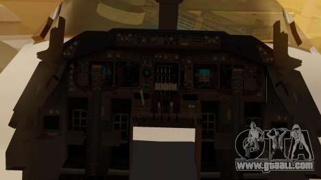 Boeing 747-200 Fly US for GTA San Andreas inner view