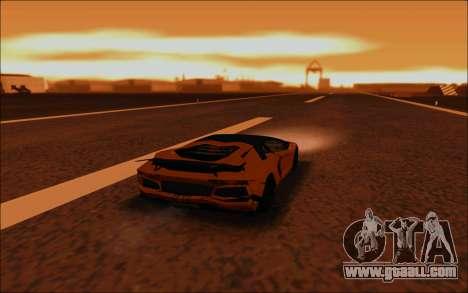Lamborghini Aventador MV.1 [IVF] for GTA San Andreas bottom view