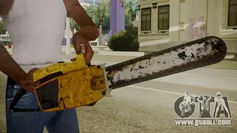 Atmosphere Chainsaw v4.3 for GTA San Andreas third screenshot