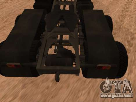 ZIL-133 05A for GTA San Andreas back view