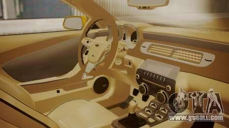 Chevrolet Camaro SS 2015 for GTA San Andreas right view