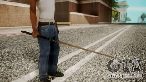 Pool Cue HD for GTA San Andreas