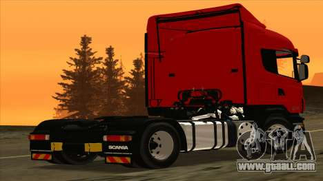 Scania R420 4x2 for GTA San Andreas back left view
