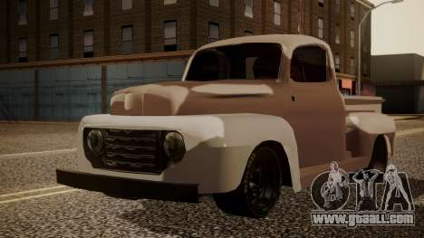 Ford F-100 1948 Simple Black Edition for GTA San Andreas