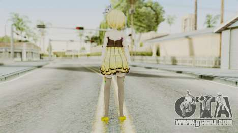 Project Diva F 2nd - Kagamine Rin Cheerful Candy for GTA San Andreas third screenshot