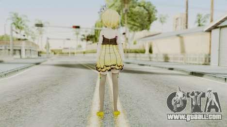 Project Diva F 2nd - Kagamine Rin Cheerful Candy for GTA San Andreas third screenshot