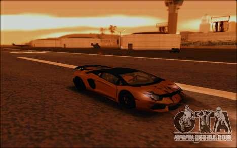 Lamborghini Aventador MV.1 [IVF] for GTA San Andreas upper view