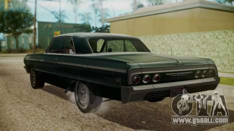 Chevrolet Impala SS 1964 Low Rider for GTA San Andreas left view