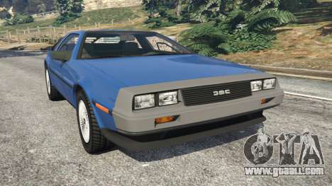 DeLorean DMC-12 v1.1 for GTA 5