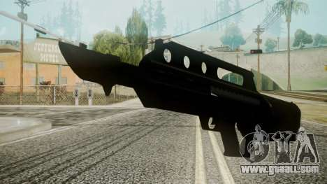MK3A1 Battlefield 3 for GTA San Andreas second screenshot