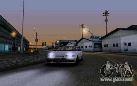 2114 Turbo for GTA San Andreas interior