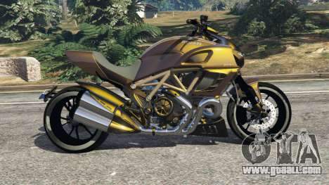 GTA 5 Ducati Diavel Carbon 11 v1.1 left side view