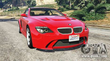 BMW M6 (E63) WideBody v0.1 [red] for GTA 5