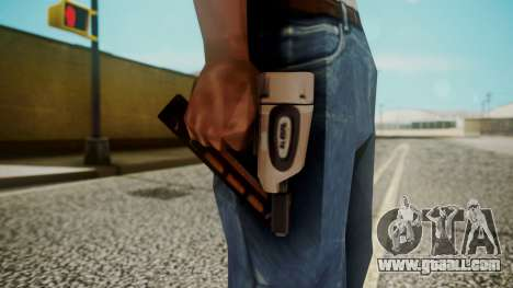 Nail Gun from Resident Evil Outbreak Files for GTA San Andreas third screenshot