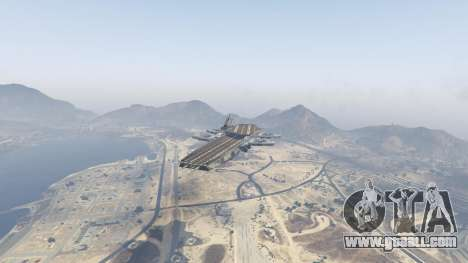 GTA 5 S.H.I.E.L.D. Helicarrier second screenshot