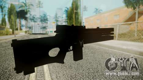 VXA-RG105 Railgun with Stripes for GTA San Andreas third screenshot