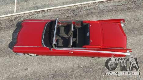 GTA 5 Cadillac Eldorado back view