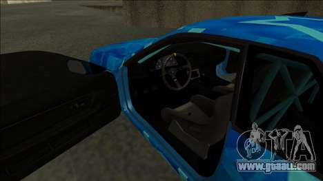Nissan Skyline R32 Drift Blue Star for GTA San Andreas right view