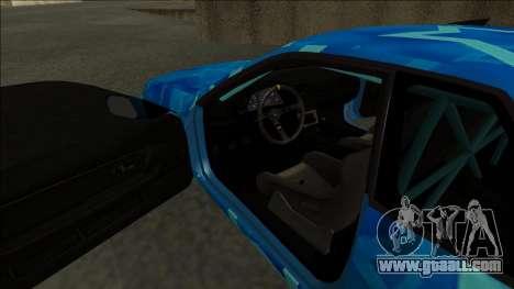 Nissan Skyline R32 Drift Blue Star for GTA San Andreas right view