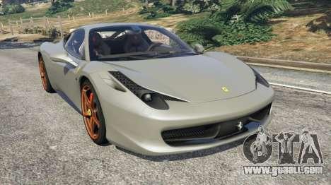 Ferrari 458 Italia 2009 v1.4 for GTA 5