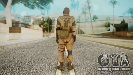Venom Snake Golden Tiger for GTA San Andreas third screenshot