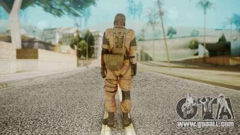 Venom Snake Golden Tiger for GTA San Andreas third screenshot