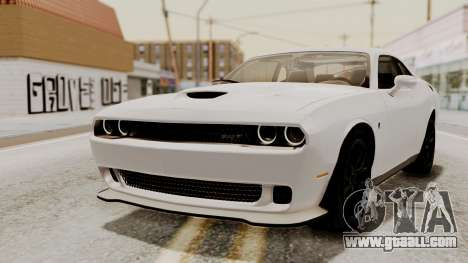 Dodge Challenger SRT Hellcat 2015 HQLM PJ for GTA San Andreas